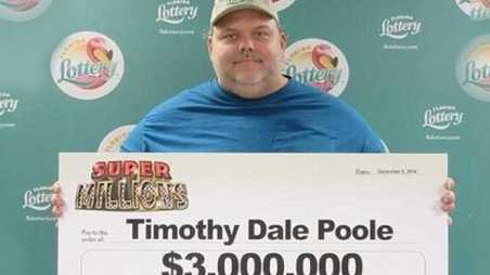 Child Molester Wins lottery Florida Timothy Poole