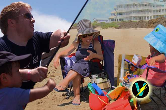 , Great Parents! Jen And Zoey Hit The Beach, Bill Takes Will Fishing