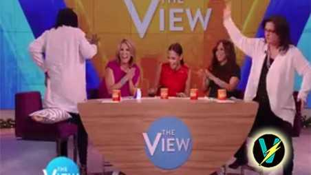 Whoopi Goldberg Farts The View Video