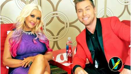 lance bass wedding christina aguilera