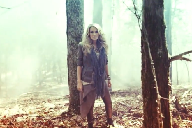 Carrie underwood little toy guns video 1
