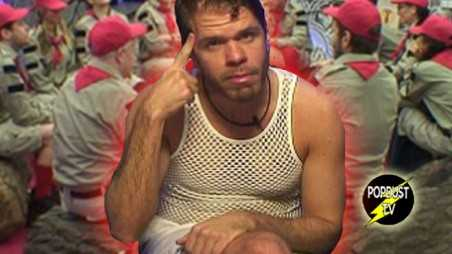Celebrity Big Brother Perez Hilton Asshole Crazy Boy Scout
