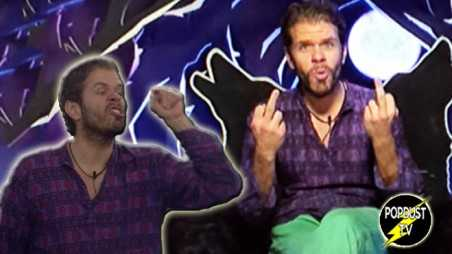 Celebrity Big Brother Perez Hilton Show Bully Child Double Finger