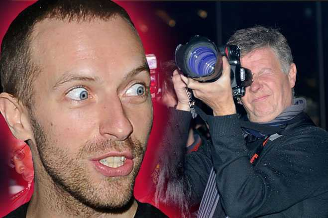Coldplay papparazi