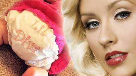 Christina Aguilera Baby Girl Photos Diva Training