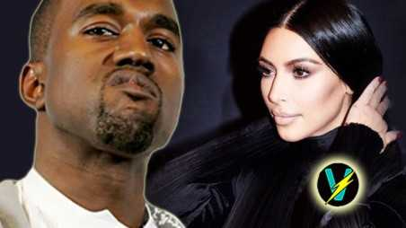 Kanye West Kim Kardashian Tribute Video Gold Digger