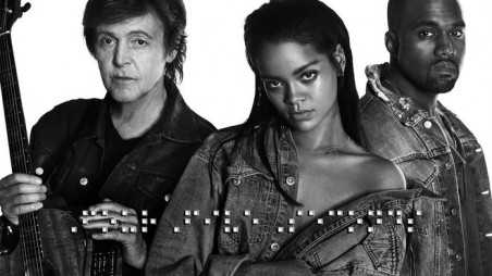 Rihanna, West, McCartney - FourFiveSeconds Featured
