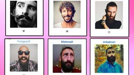 Social Network Guys Beards Bristlr Douches Hipsters