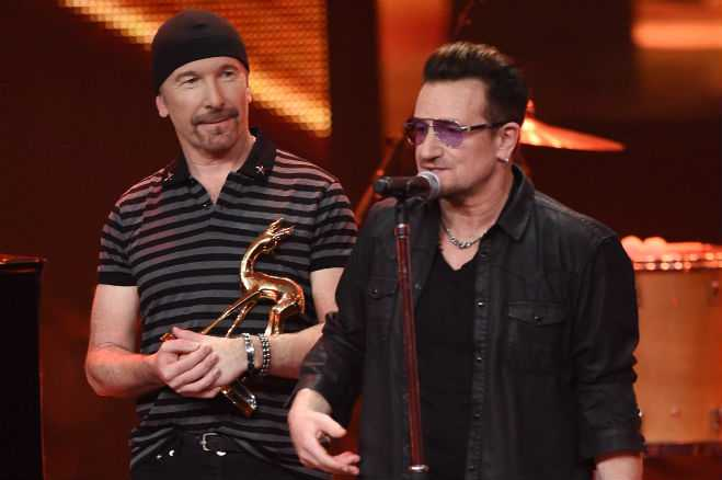 bono never play guitar again accident