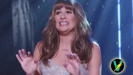 lea michele let it go vomit glee