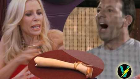 Aviva Drescher Husband Reid Throws Fake Leg At Her