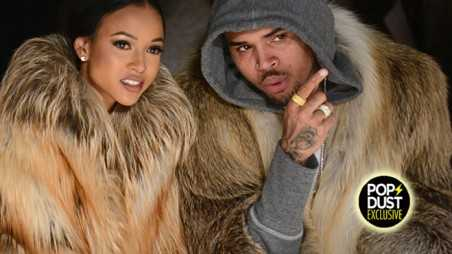 Chris Brown Fur PETA Violence New York Fashion Week