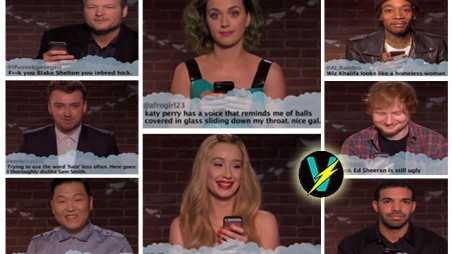Music Stars Reading Mean Tweets Video Jimmy Kimmel