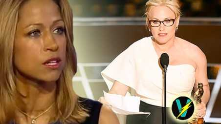Stacey Dash Patricia Arquette Oscars Speech History Equal Pay