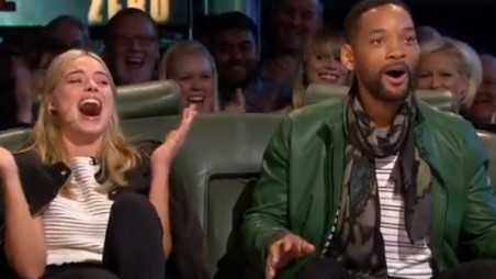 Will Smith Margot Robbie Top Gear Driving F