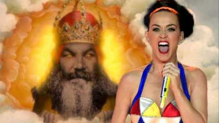 katy perry god super bowl