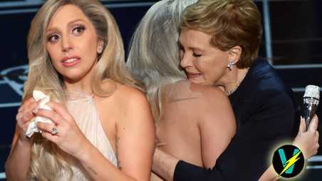 lady gaga julie andrews oscars no idea