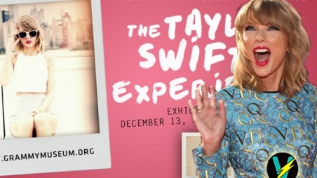 taylor swift humblebrag grammy museum exhibit