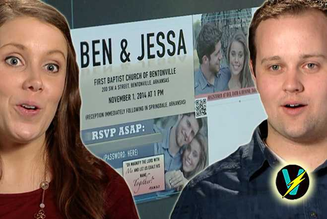 ... Kids And Countdown To Jessa And Bens Wedding In True Duggar Style
