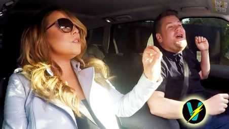 Mariah Carey James Corden Car Karaoke Video