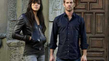 Michelle Rodriguez Crazy Paul Walker Death