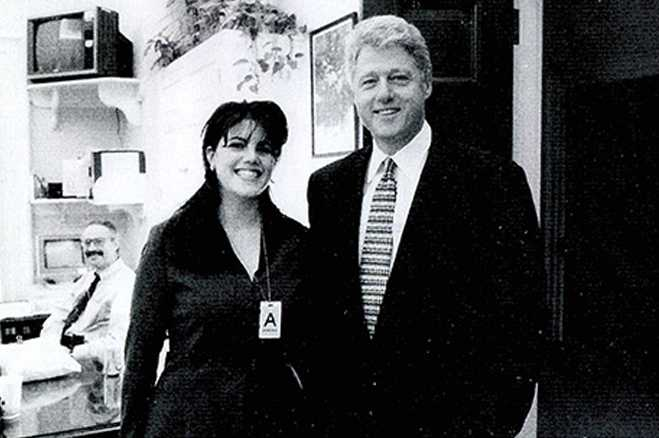 Useful monica lewinsky and bill clinton