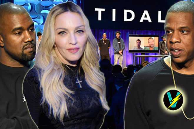 TidalForAll Launch Video Madonna Kanye Jay Z