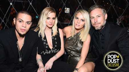 Jessica Simpson Brother In Law Evan Ross Ashlee Simpson Tension