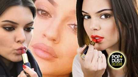 Kendall Jenner Plastic Surgery Lips Kylie Jenner