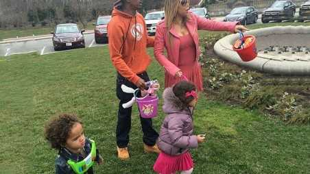Mariah Carey And Nick Cannon Enjoy Easter With Their Kids