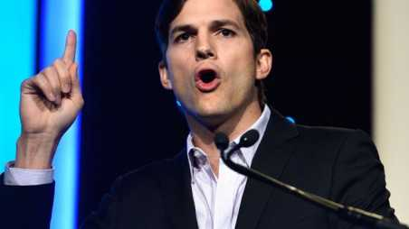 Ashton Kutcher Furious Baby Photos