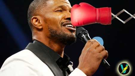 Jamie Foxx National Anthem Fight