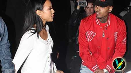 Chris Brown Karrueche Tran Fight House