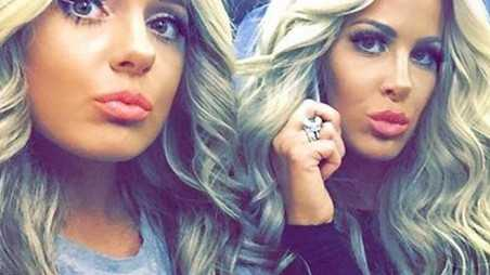 Kim Zolciak Daughter Boob Job Graduation
