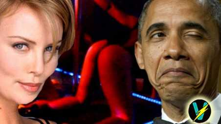 Charlize Theron Invited President Obama Strip Club