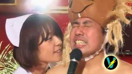 Japanese Game Show Women Jerk Off Men Karaoke