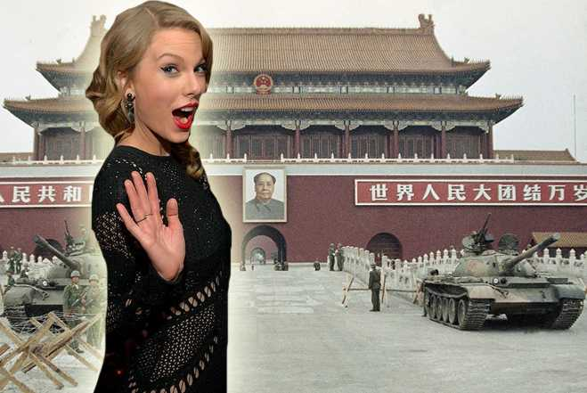 Taylor Swift Tiananmen Square Clothing Fight China