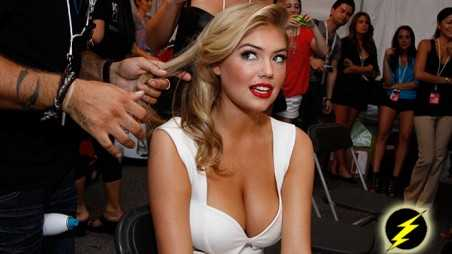 Kate Upton's Hot And Fiery Pics