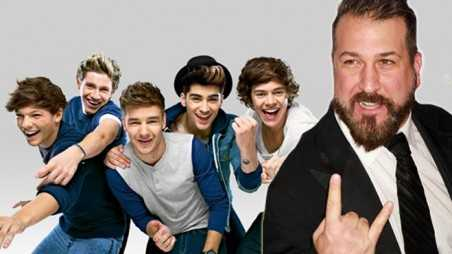 Joey Fatone One Direction Letter