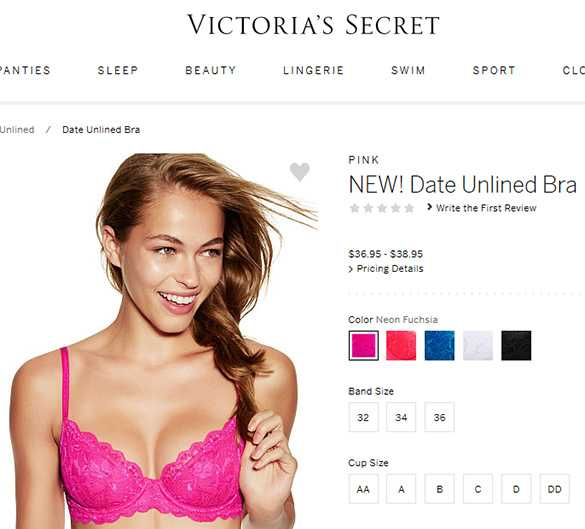 0a43584c55 Here s Victoria s Secret—They Charge More For Bigger Bra Sizes ...