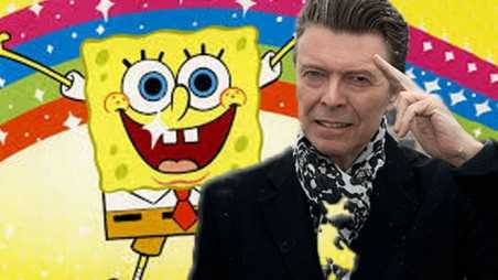 Bowie Joins SpongeBob In Bikini Bottom