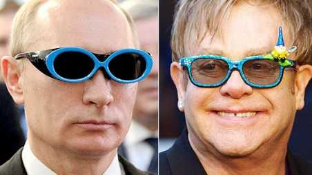 Elton John's Miracle Call From Vladimir Putin Was A TV Hoax After All