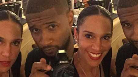 Usher Married Manager