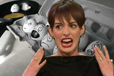 Guess How Many Times Anne Hathaway Sent Back Her Eggs