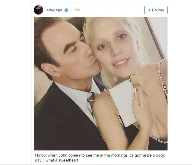 Travolta And Gaga—Is There A Creepy Motive To Their Friendship p