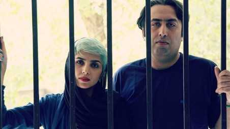 iranian poets sentenced lashes shaking hands