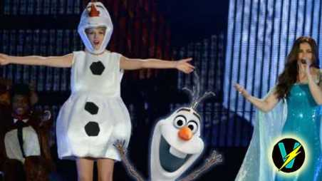 taylor swift olaf costume