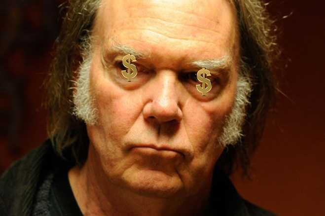 Neil Young Sells Out—It's Official - Popdust Rolling Stones Songs