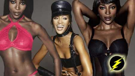 naomi campbell lingerie aged