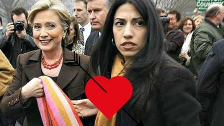 Huma and Hillary very special relationship